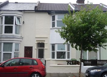 Thumbnail 3 bed terraced house to rent in Manor Road, Fratton, Portsmouth