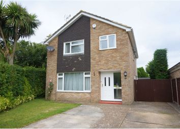 Thumbnail 4 bed detached house for sale in Raleigh Close, Ringwood