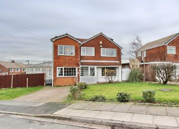 Thumbnail 4 bed detached house for sale in Melton Drive, Hollins, Bury