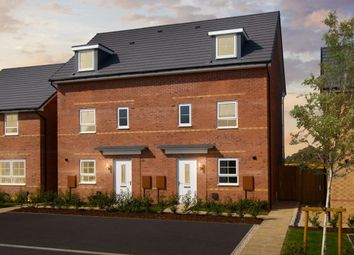 "Thumbnail 4 bed end terrace house for sale in ""Woodcote"" at Kempton Close, Chesterton, Bicester"