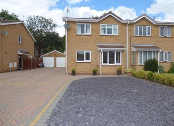 Thumbnail 4 bed semi-detached house for sale in Savile Close, Beverley