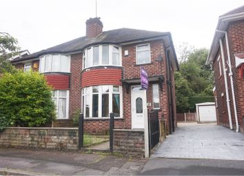 Thumbnail 3 bed semi-detached house for sale in Conway Avenue, Whitefield, Manchester