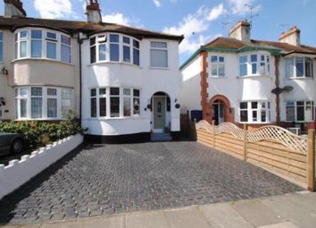 Thumbnail 3 bed semi-detached house for sale in Richmond Drive, Westcliff-On-Sea, Southend-On-Sea