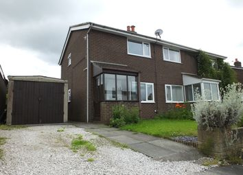 Thumbnail 2 bed semi-detached house to rent in Hawkshead Avenue, Euxton, Chorley