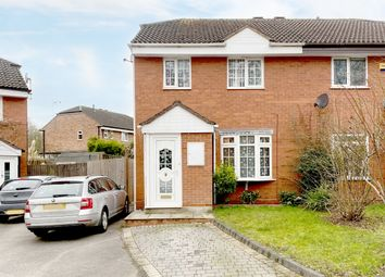 Thumbnail 3 bed semi-detached house for sale in Windridge Crescent, Solihull