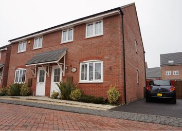 3 bed semi-detached house for sale in Keel Close, Wigston LE18