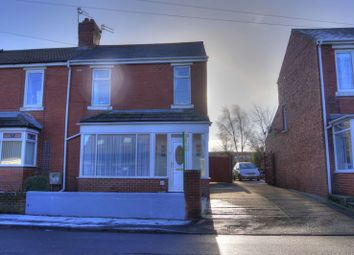 Thumbnail 3 bed semi-detached house for sale in Stead Lane, Bedlington