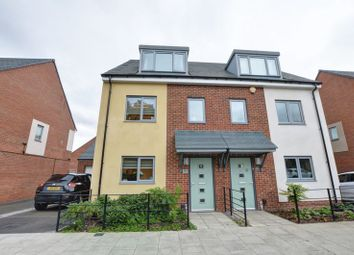 Thumbnail 3 bedroom town house for sale in Armstrong Road, Scotswood, Newcastle Upon Tyne