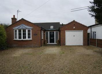 Thumbnail 4 bed detached bungalow for sale in The Causeway, Stow Bridge, King's Lynn
