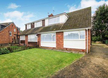 Thumbnail 4 bed semi-detached bungalow for sale in Montague Crescent, Garforth