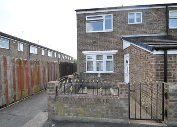 Thumbnail 3 bedroom end terrace house for sale in Blandford Close, Bransholme, East Hull