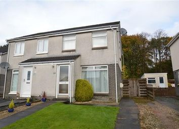 Thumbnail 3 bed semi-detached house for sale in Valleyfield, Milton Of Campsie