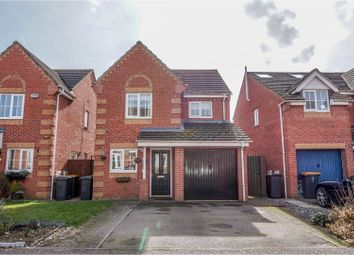 Thumbnail 3 bed detached house for sale in Hunter Close, Shortstown