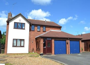 Thumbnail 4 bed detached house for sale in Woodpecker Way, East Hunsbury, Northampton