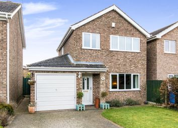 Thumbnail 3 bed detached house for sale in St Marys Avenue, Welton, Lincoln