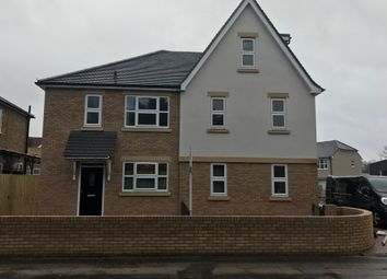 Thumbnail 3 bed semi-detached house to rent in Long Lane, Stanwell, Staines