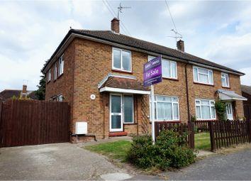 Thumbnail 4 bed semi-detached house for sale in Longfield Road, Aldershot