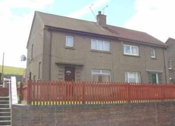 Thumbnail 2 bed semi-detached house to rent in Rosebank, Sauchie, Alloa
