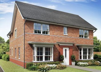 "Thumbnail 4 bedroom detached house for sale in ""Alnmouth"" at The Ridge, London Road, Hampton Vale, Peterborough"