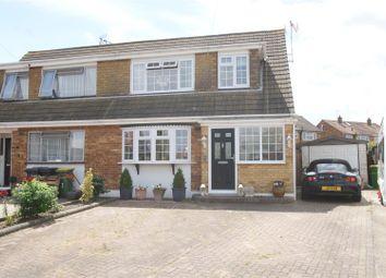 Thumbnail 3 bed property for sale in Ashdene Close, Hullbridge, Hockley