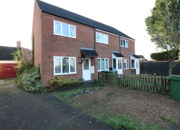 Thumbnail 2 bed end terrace house for sale in Nicholls Way, Roydon, Diss