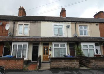 Thumbnail 2 bed terraced house for sale in Gordon Street, Burton-On-Trent, Staffordshire