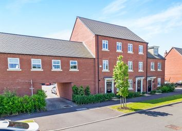Thumbnail 3 bed town house for sale in Templar Road, Ashby-De-La-Zouch
