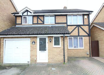 Thumbnail 4 bedroom detached house for sale in Swan Mead, Luton