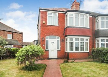 Thumbnail 3 bed semi-detached house for sale in Tyne Road, Redcar, North Yorkshire