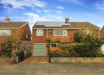 Thumbnail 3 bed semi-detached house for sale in Arundel Drive, Whitley Bay, Tyne And Wear