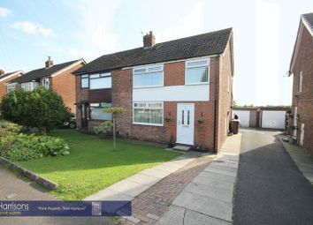 Thumbnail 3 bed semi-detached house for sale in Hertford Road, Tyldesley, Manchester, Greater Manchester.