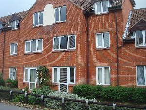Thumbnail 1 bed flat for sale in Oldschoolcourt, Stowmarket