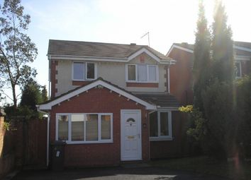 Thumbnail 3 bed detached house for sale in Fairoak Road, Newcastle, Staffordshire