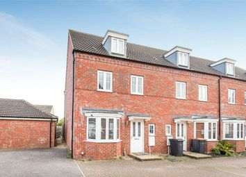 Thumbnail 4 bed end terrace house for sale in Grenadier Close, Bedford