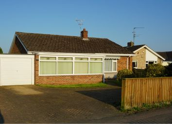 Thumbnail 3 bed detached bungalow for sale in Stow Road, Wisbech