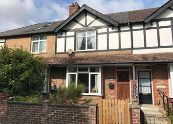 Thumbnail 3 bed terraced house for sale in Town Cross Avenue, Bognor Regis, West Sussex.