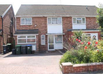 Thumbnail 3 bed semi-detached house for sale in Stanton Road, Great Barr, Birmingham, B243