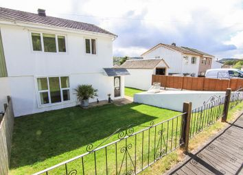 Thumbnail 3 bed semi-detached house for sale in Ffynnonau, Crickhowell