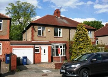 Thumbnail 3 bed semi-detached house to rent in Grosvenor Avenue, Jesmond, Newcastle Upon Tyne