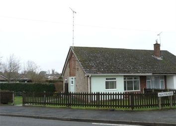 Thumbnail 2 bed semi-detached bungalow for sale in Meriton Road, Lutterworth