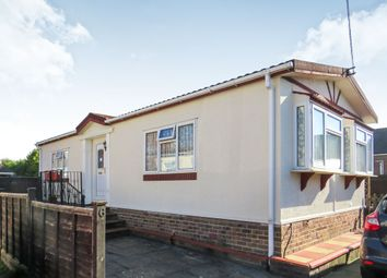Thumbnail 2 bedroom mobile/park home for sale in Moorgreen Road, West End, Southampton
