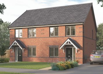 "Thumbnail 3 bed semi-detached house for sale in ""The Lorton"" at Highfield Villas, Doncaster Road, Costhorpe, Worksop"