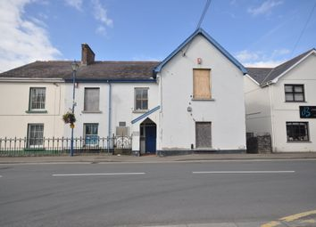Thumbnail Commercial property for sale in The Old Library & Court House, Pentre Road, St.Clears