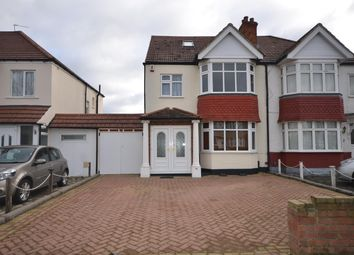 Thumbnail 4 bed semi-detached house to rent in St Augustines Avenue, Wembley, Middlesex