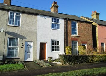 Thumbnail 2 bed terraced house to rent in Sutton Mill Road, Potton, Bedfordshire