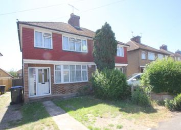 Thumbnail 3 bed semi-detached house to rent in Selwood Road, Woking