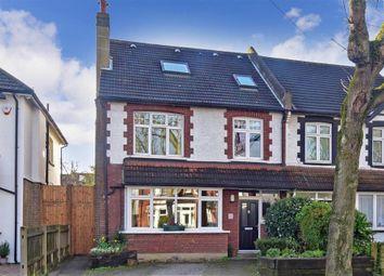Thumbnail 5 bed semi-detached house for sale in Morton Gardens, Wallington, Surrey