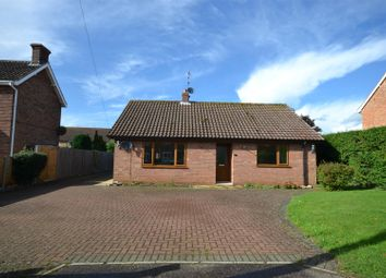 Thumbnail 2 bed detached bungalow for sale in Vong Lane, Pott Row, King's Lynn