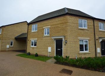 Thumbnail 3 bed semi-detached house for sale in Hawker Way, Pineham, Northampton, Northamptonshire