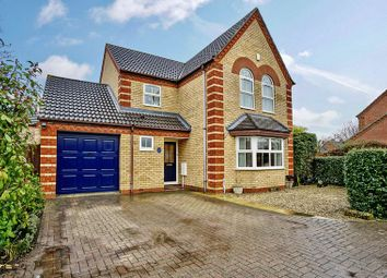 Thumbnail 4 bedroom detached house for sale in Orchard Close, Eaton Ford, St. Neots